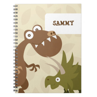 Dinosaur Land Notebook