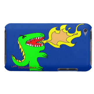 Dinosaur or Dragon Art by little t + Joseph Adams iPod Touch Cover