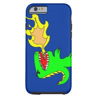 Dinosaur or Dragon Art by little t + Joseph Adams Tough iPhone 6 Case