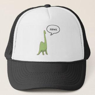Dinosaur rawr! trucker hat