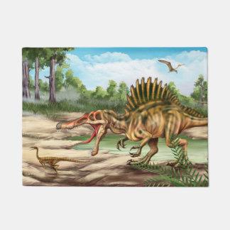 Dinosaur Species Doormat