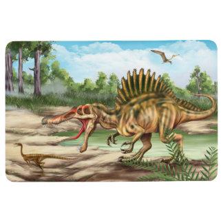 Dinosaur Species Floor Mat