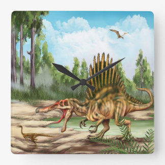 Dinosaur Species Wall Clock