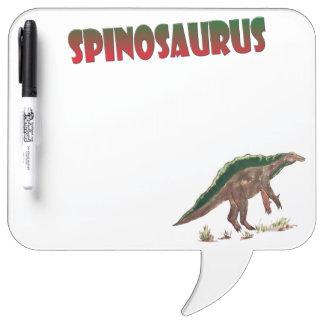 Dinosaur Spinosaurus Dry Erase Board