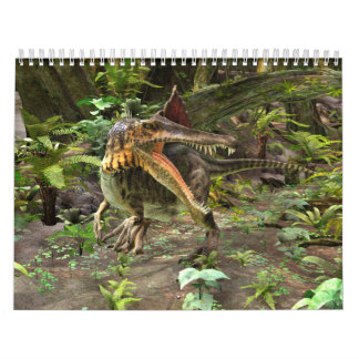 Dinosaur Spinosaurus Wall Calendars