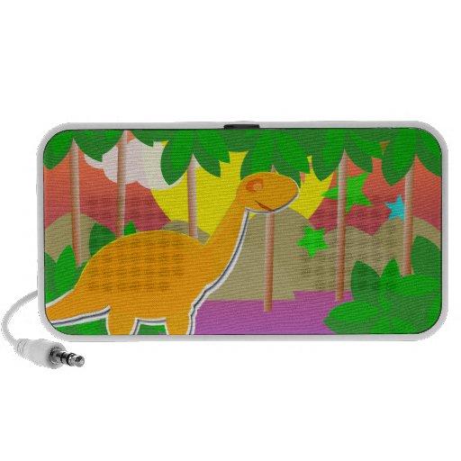 Dinosaur Sunset Speaker System