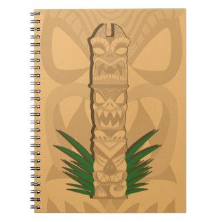Dinosaur Tiki Totem Notebooks