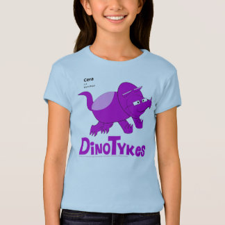 Dinotykes Cera is a Triceratops Baby Blue T-Shirt