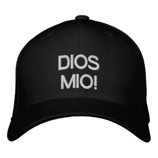 DIOS MIO CUSTOMIZABLE PRODUCTS EMBROIDERED HATS