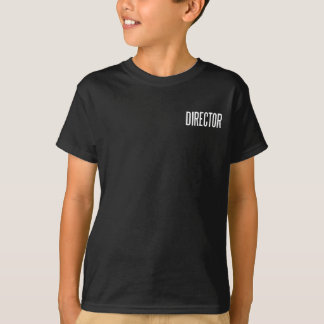 Director basic black T.Shirt T-Shirt