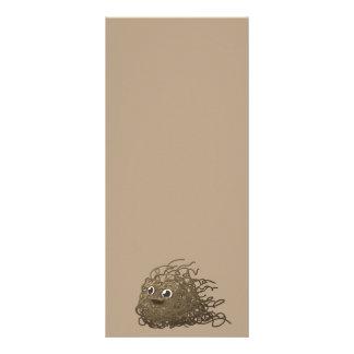 dirt-576491 CUTE CARTOON DIRT NOODLES HAPPY FUNNY Custom Rack Cards