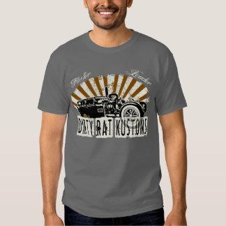Dirty Rat Kustoms - Faster, Louder T Shirts