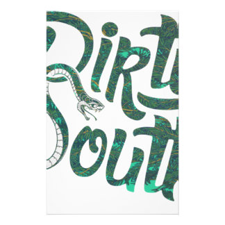 Dirty South Snakes Stationery