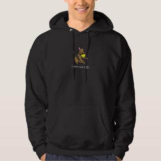 Disc Dog Airedale Terrier Hooded Sweatshirt