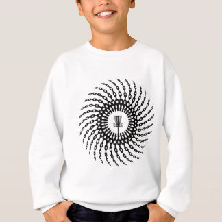 Disc Golf Basket Chains Sweatshirt