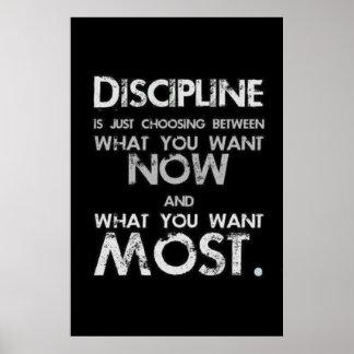 Discipline Poster