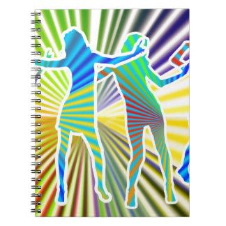 Disco Divas Spiral Notebook