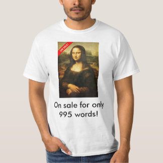 Discount Mona Lisa T-Shirt