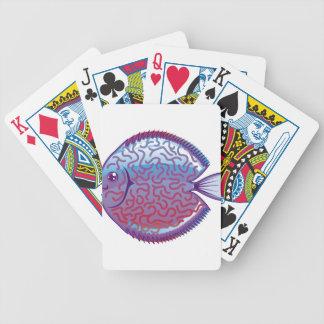 Discus Aquarium fish Bicycle Playing Cards
