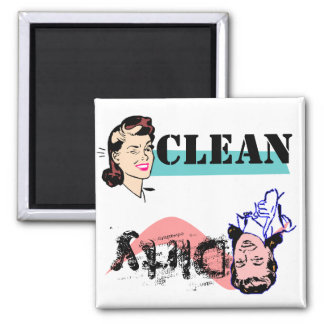 Dish Washer Magnet Finger Wag Dirty vs Wink Clean