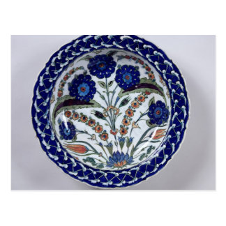 Dish with a floral decoration Iznik Post Cards