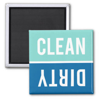 Dishwasher Magnet CLEAN | DIRTY - Shades of Blue