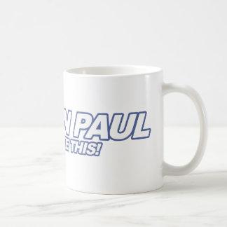 Dislike Ron Paul - 2012 election president vote Basic White Mug
