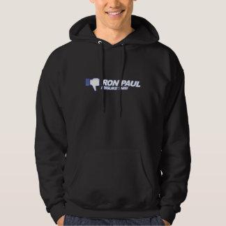 Dislike Ron Paul - 2012 election president vote Hoodie