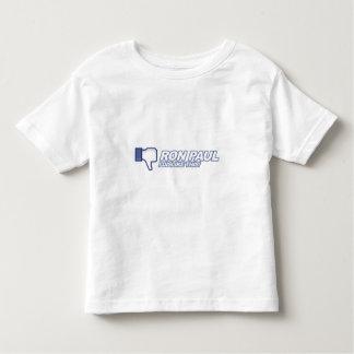Dislike Ron Paul - 2012 election president vote Toddler T-Shirt
