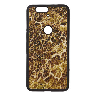 Distinctive Abstract Texture Wood Nexus 6P Case