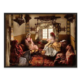 Distinguished Moorish women Algiers Algeria vint Postcards