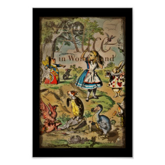 Distressed Alice and Friends Cover Poster