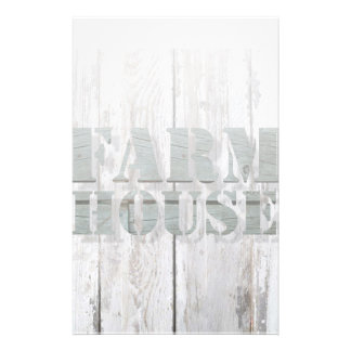 distressed barn wood western country farmhouse stationery