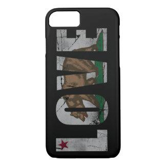 Distressed California Love Flag Bear iPhone 8/7 Case