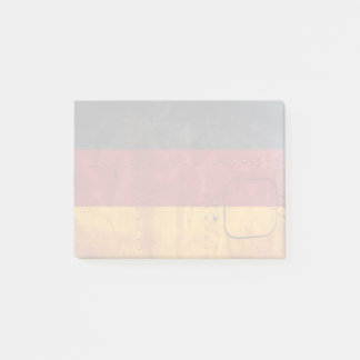 Distressed Country Flags | Germany Post-it Notes