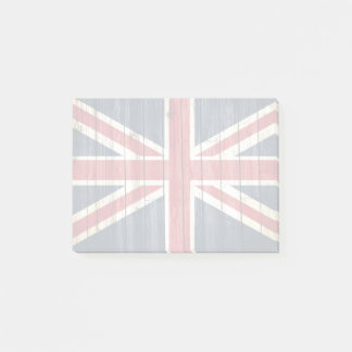 Distressed Country Flags | Great Britain Post-it Notes