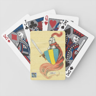 Distressed Knight Playing Cards