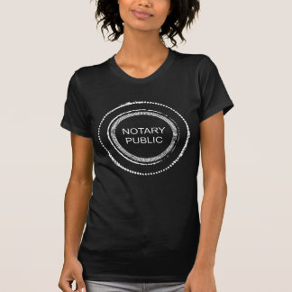 Distressed Notary Public Seal T-Shirt
