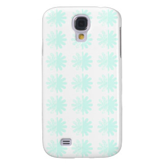 Distressed Petal Snowflake Pattern Galaxy S4 Case