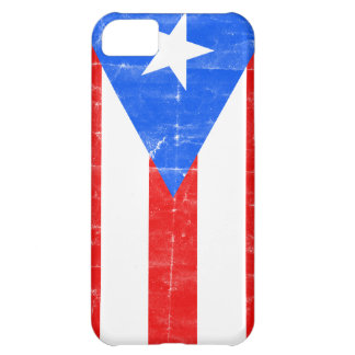 Distressed PR.png iPhone 5C Case