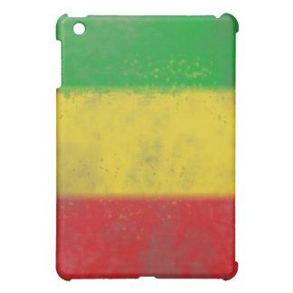 Distressed Rasta Stripes Case For The iPad Mini