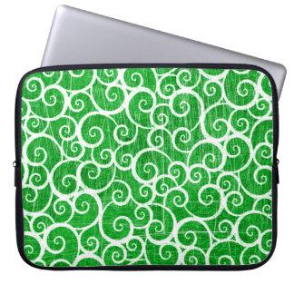 Distressed Swirls Laptop Sleeve