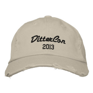 dittercon hat embroidered hat