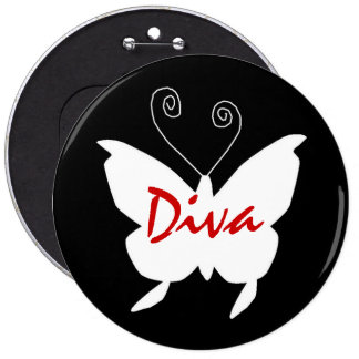 Diva Butterfly I Pins