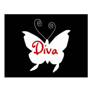 Diva Butterfly I Postcards