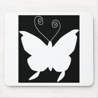 Diva Butterfly Mouse Pads