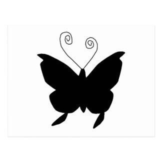 Diva Butterfly Post Card