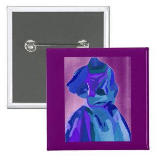 Diva Fashionista In Blue I Pin