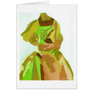 Diva Fashionista In Spring Cards