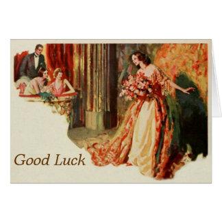 Diva Good Luck Template Greeting Card